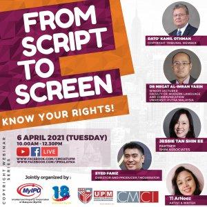 Webinar From Script to Screen